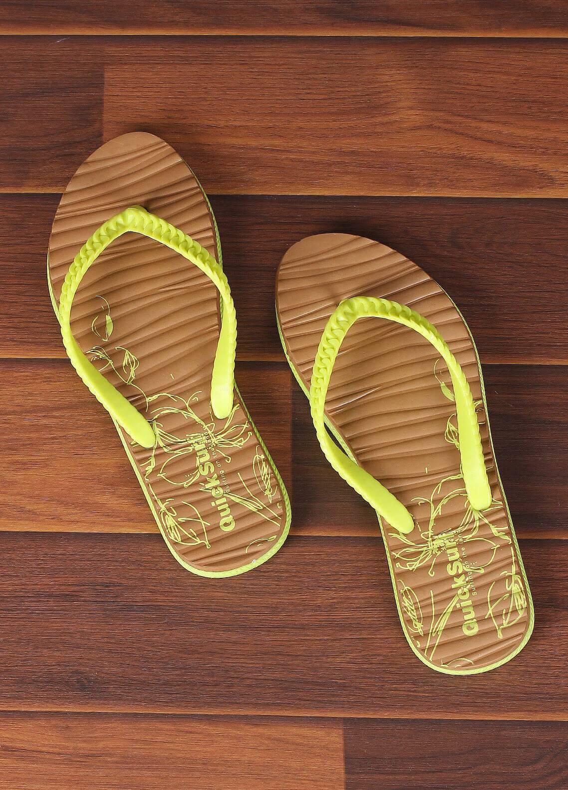 Rubber Flip Flops for Ladies 2821