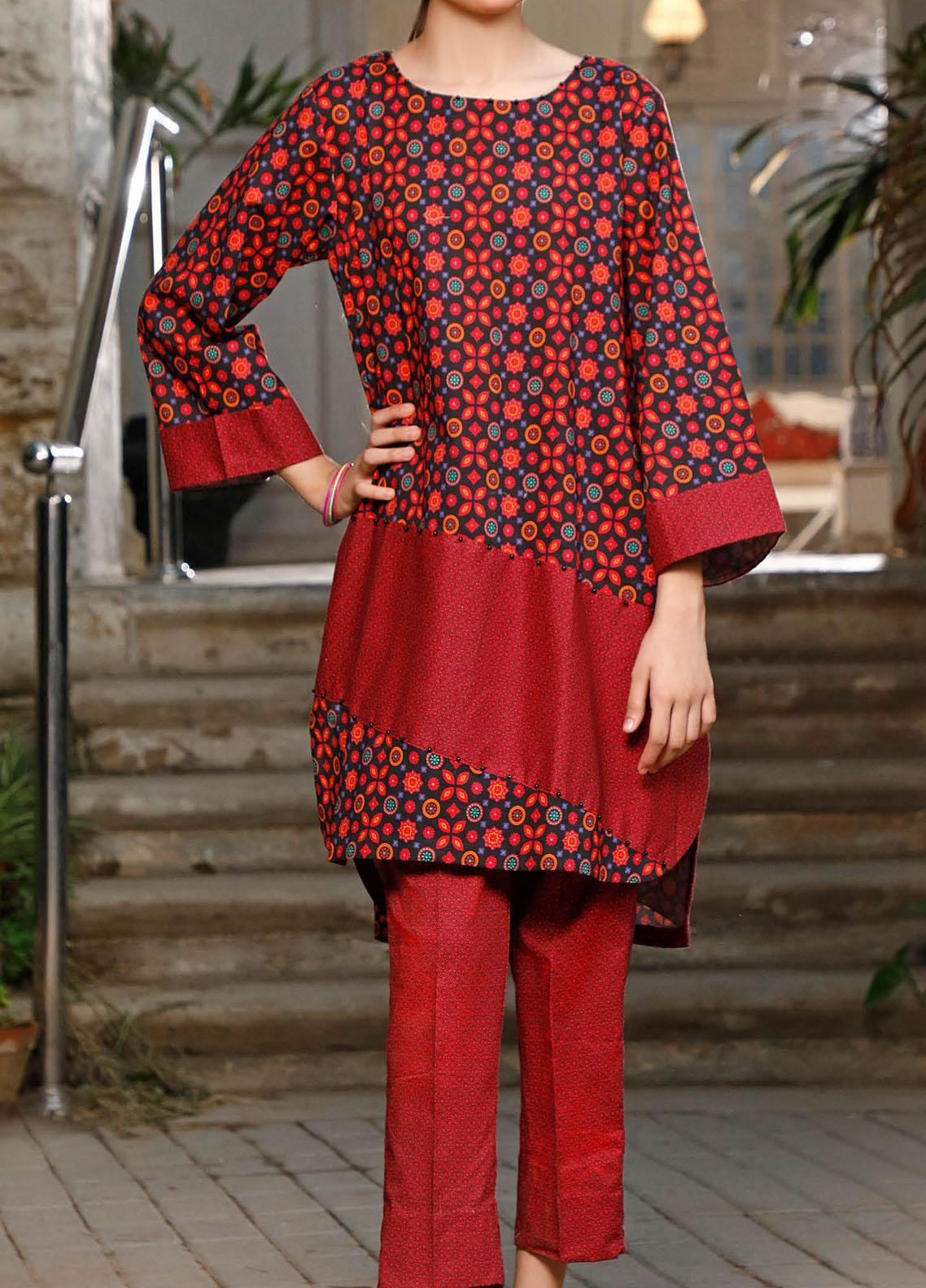 Ittehad Textiles Printed Cotton Unstitched 2 Piece Suit ITD20FC 2109A - Summer Collection