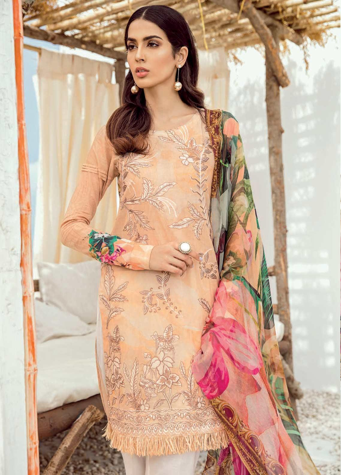 529ac98283 Iznik Chiffon & Iznik Lawn 2019 Suits Collection - Iznik Chinon ...