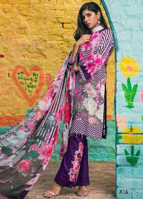 Jahanara Embroidered Cotton Unstitched 3 Piece Suit JN17C 04