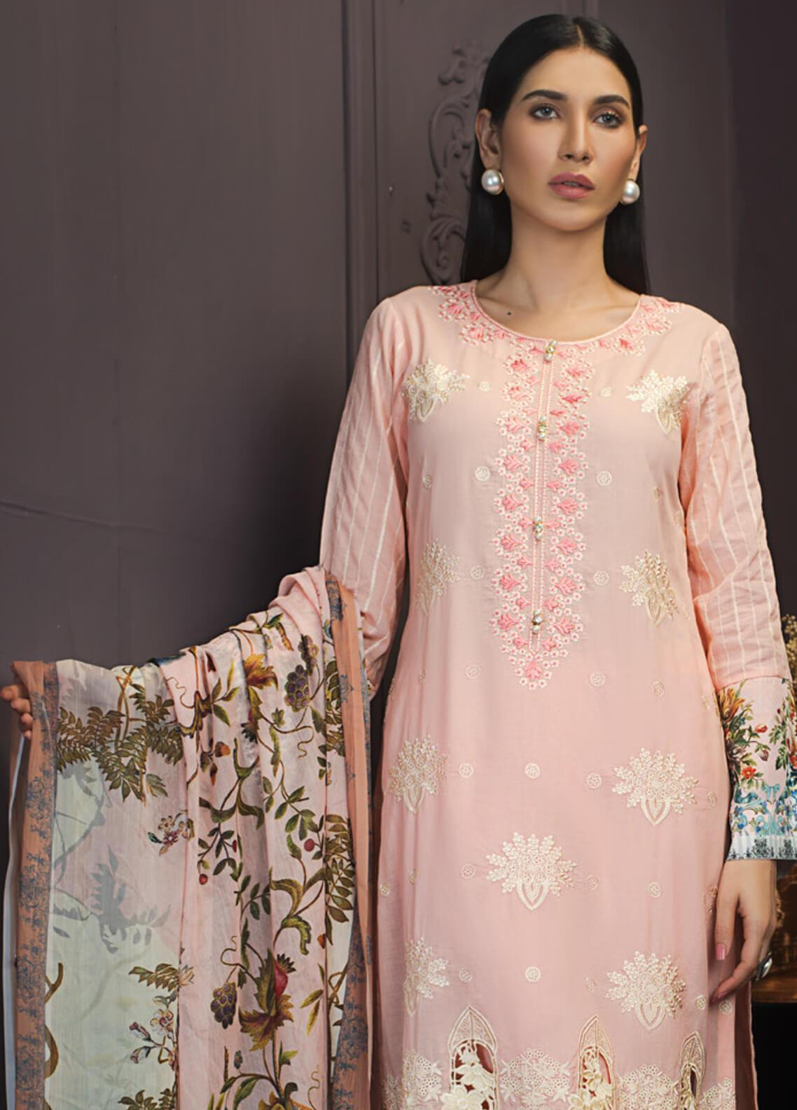 Kalyan By ZS Embroidered Lawn Unstitched 3 Piece Suit KLY19-F2 03 - Festive Collection