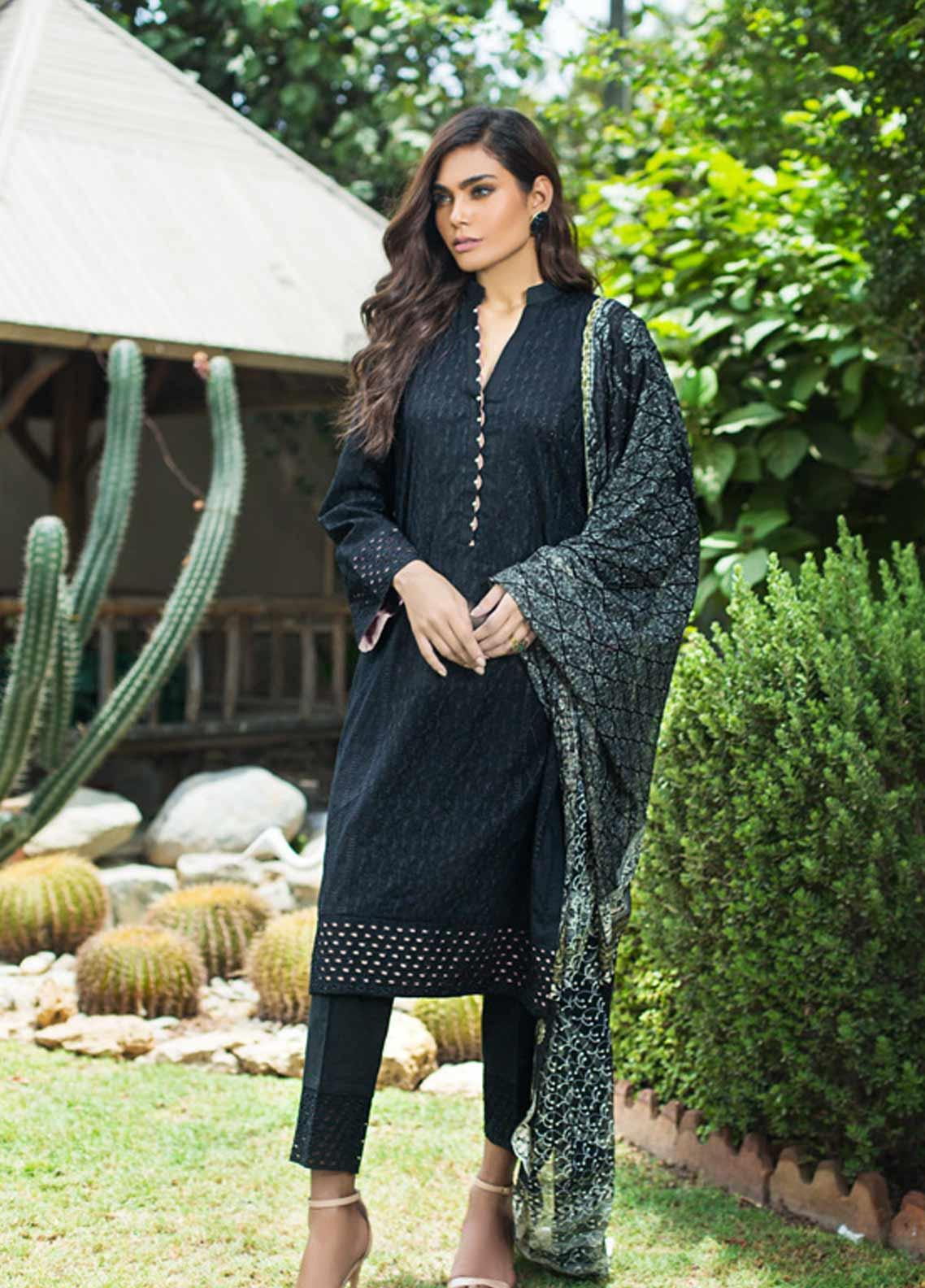 Kalyan By ZS Embroidered Schiffli Unstitched 3 Piece Suit KLY19-F3 05 - Festive Collection