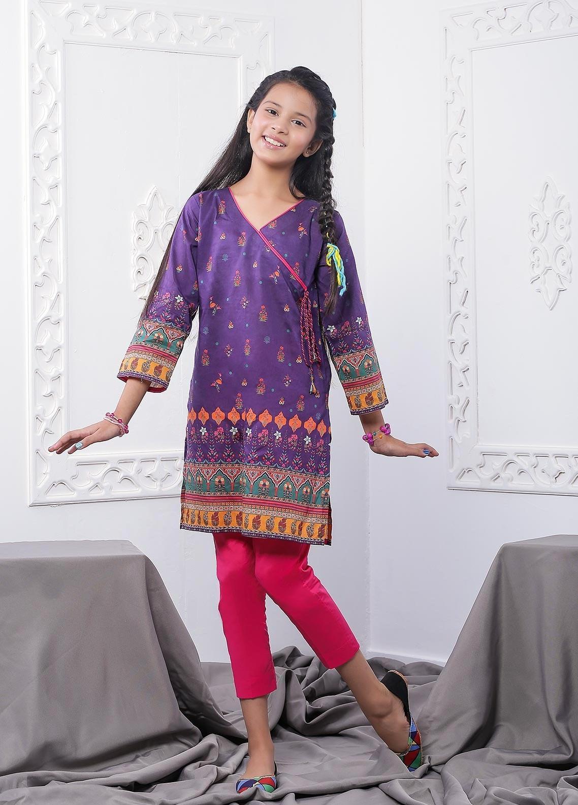 Waniya Lawn Printed 2 Piece Suit for Girls -  WKA20-07