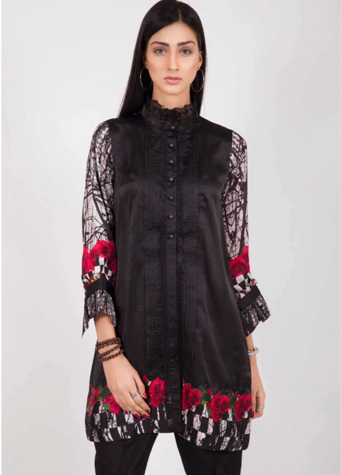 Kross Kulture Printed Silk Stitched Kurtis KK18K 768