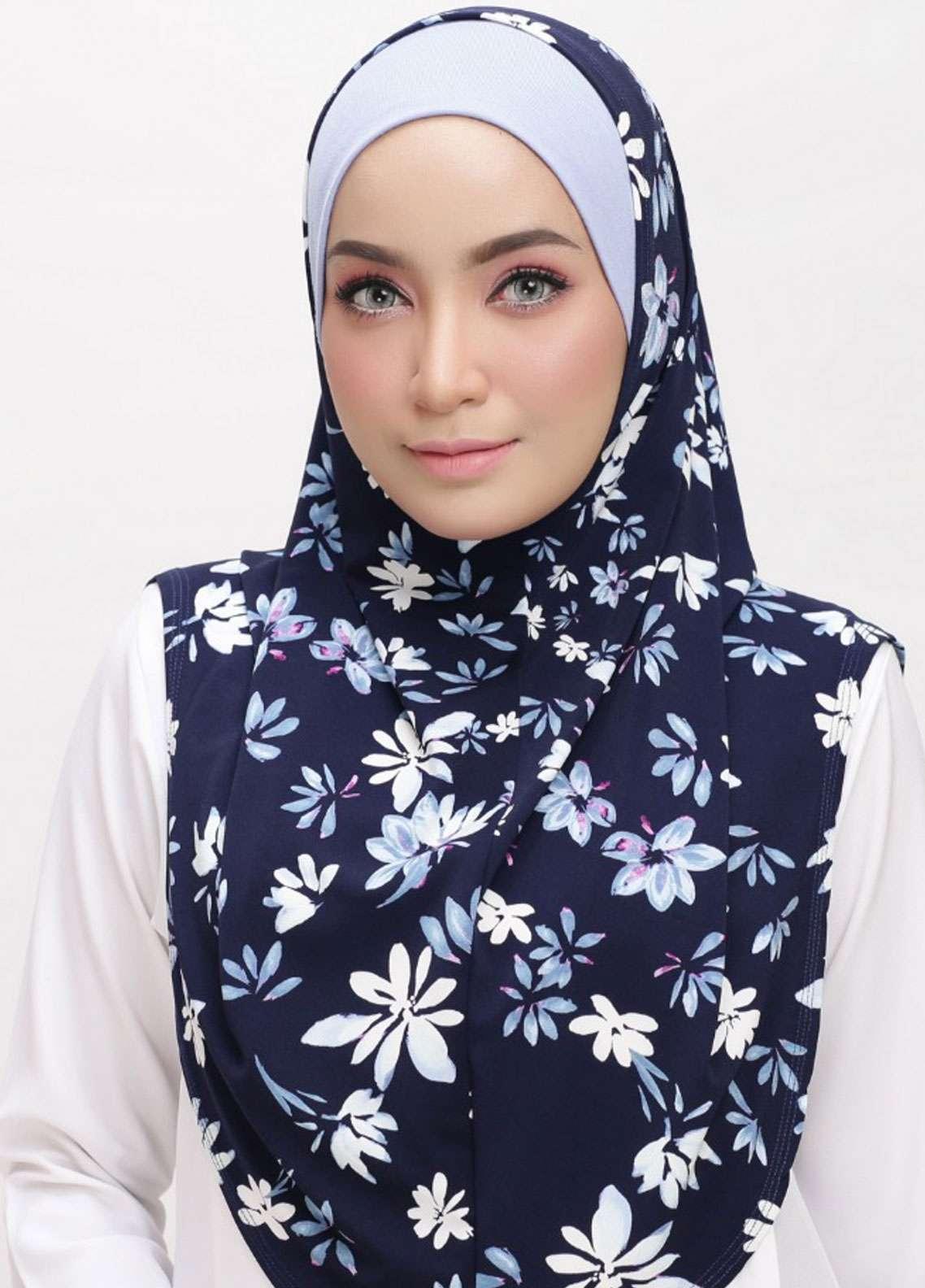 Chenta Qaseh  Lycra  Scarves HH Chenta ADR 14 Blue