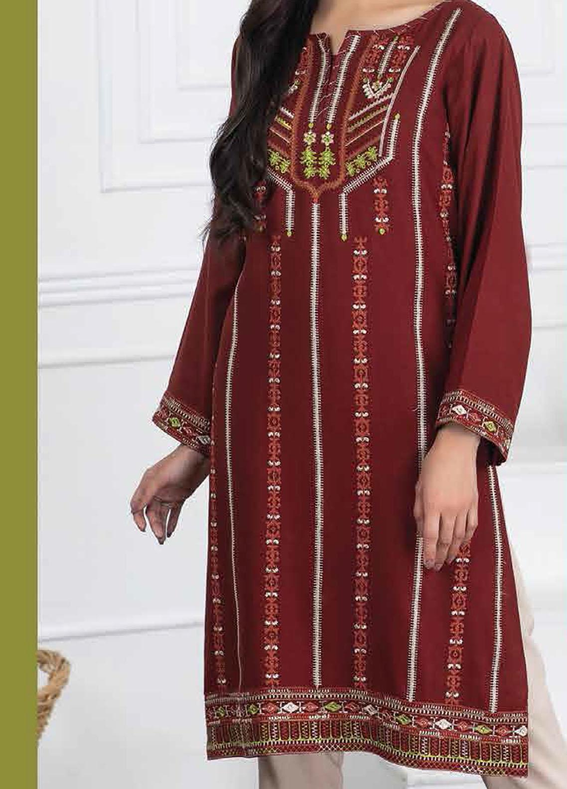 Lakhany Embroidered Viscose Unstitched Kurties LSM20WK 2095 - Winter Collection