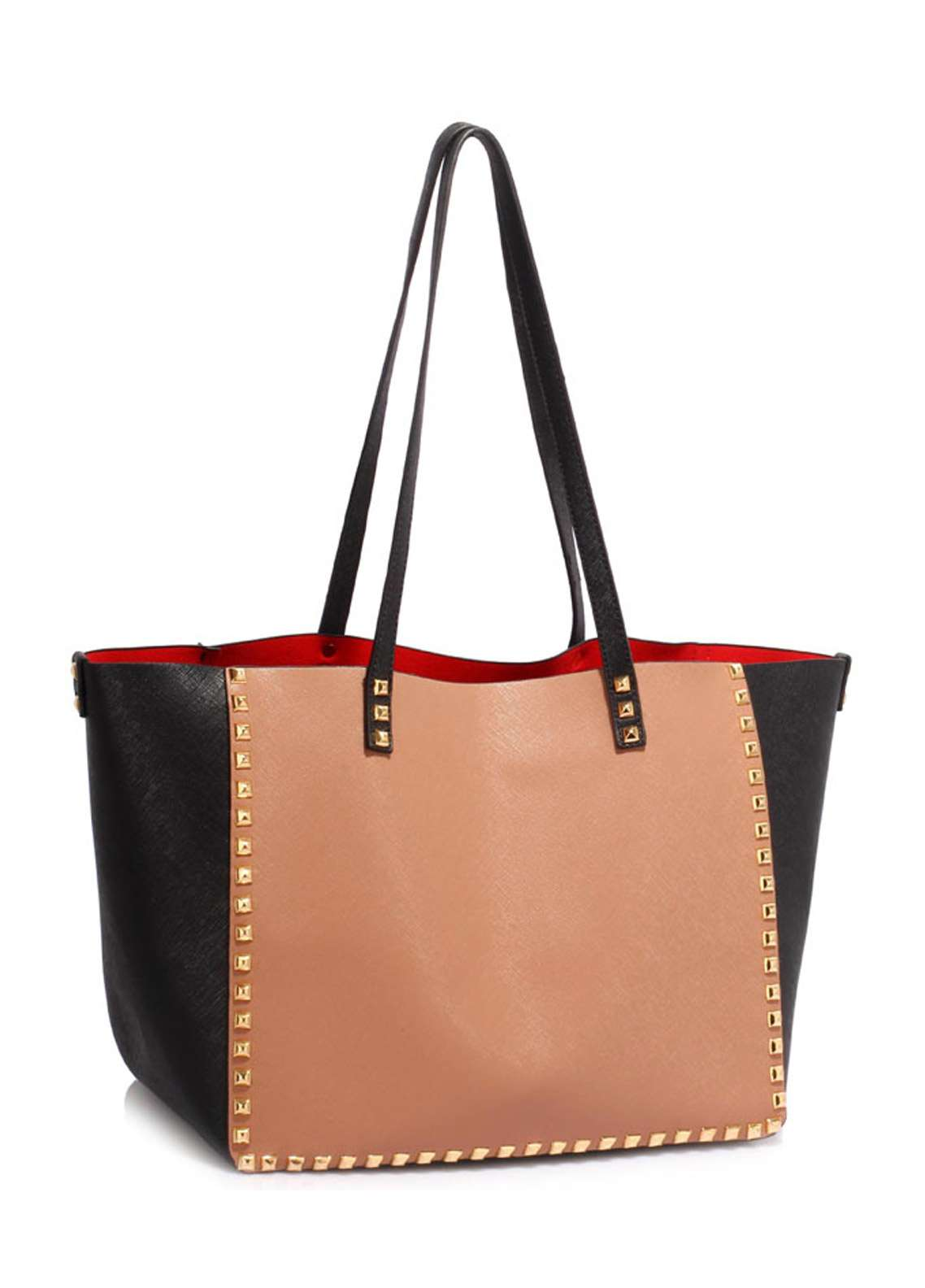 Leesun London Faux Leather Tote Bags for Women  Multi