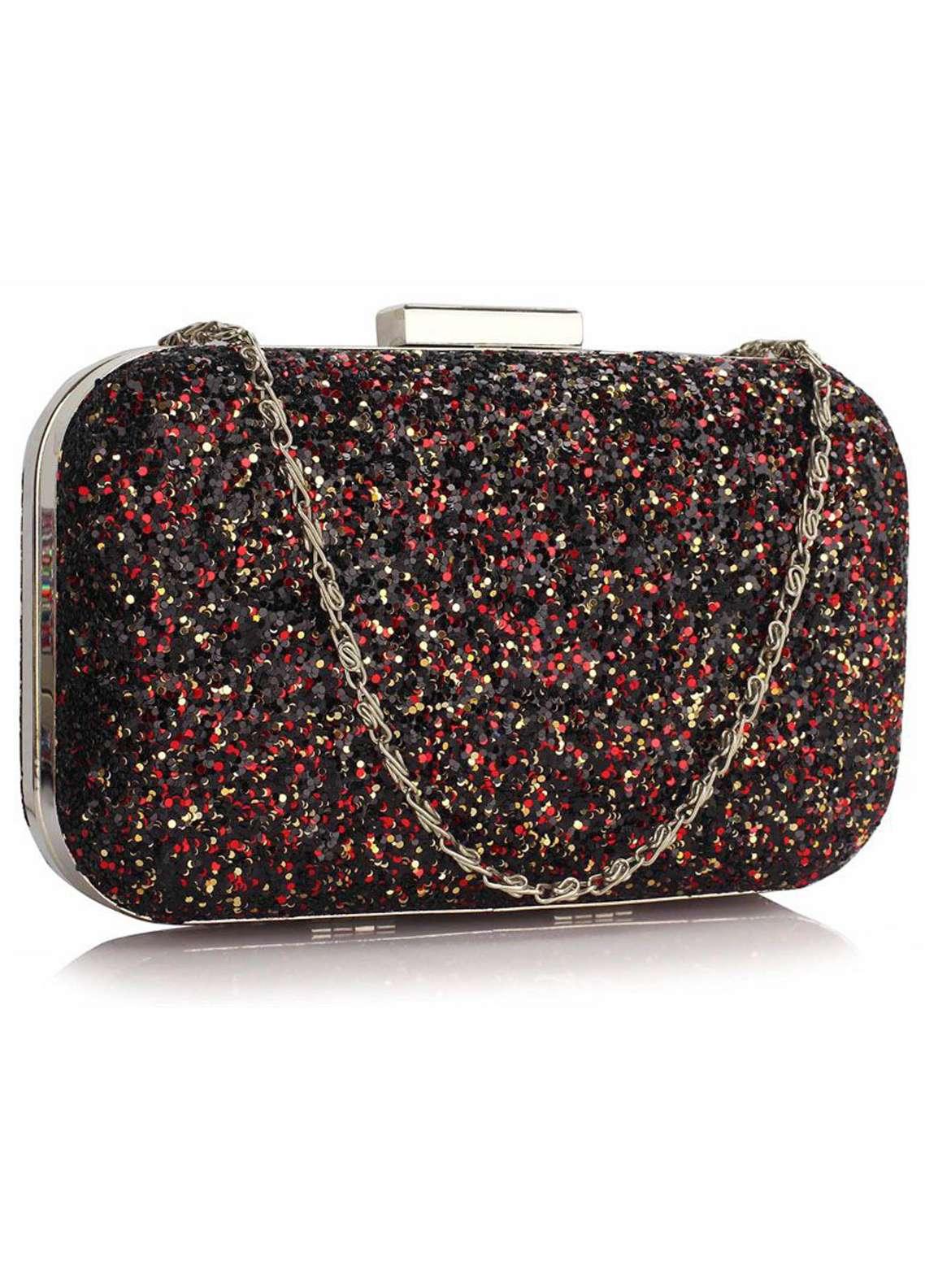 Leesun London   Clutch Bags  for Women  Multi with Fancy Style