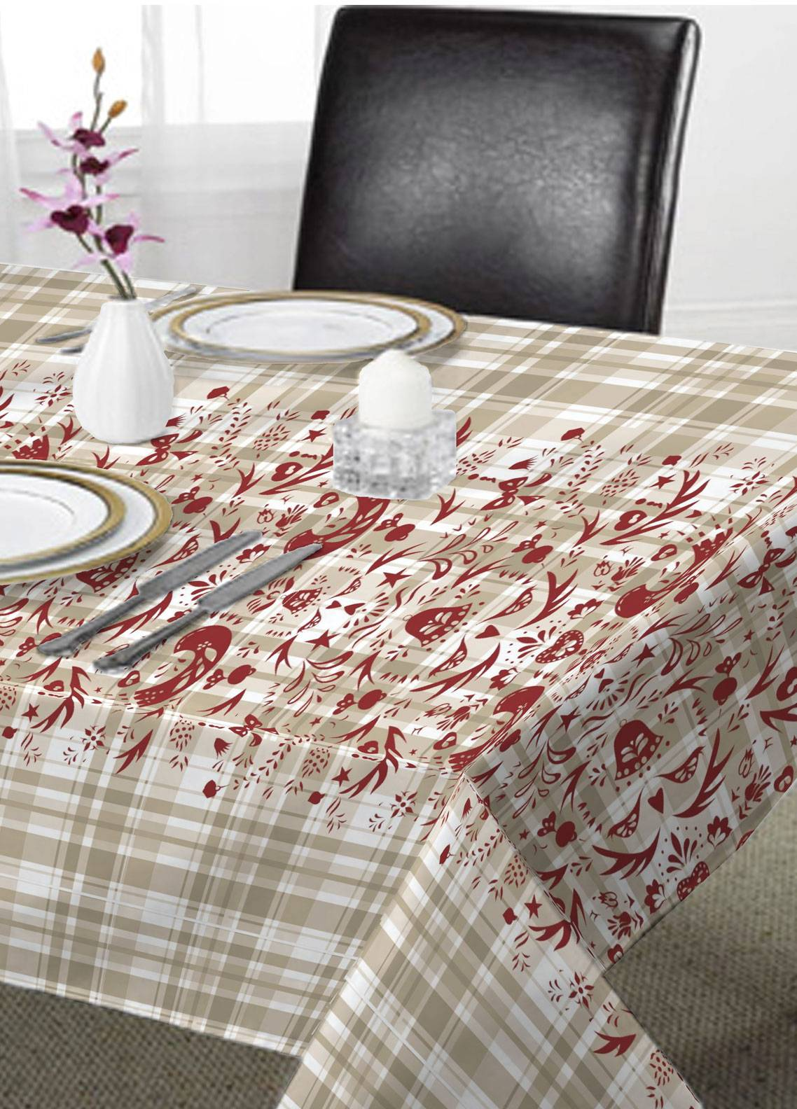 Maguari Textile Printed Cotton Table Upper Cover MT1012