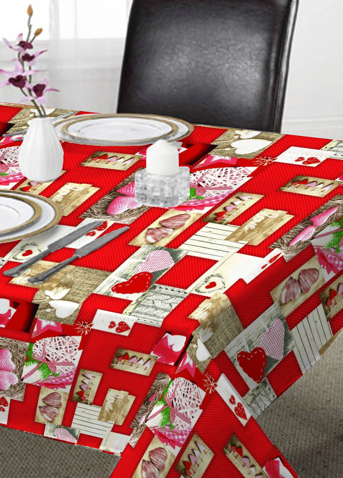Maguari Textile Printed Cotton Table Upper Cover MT1014