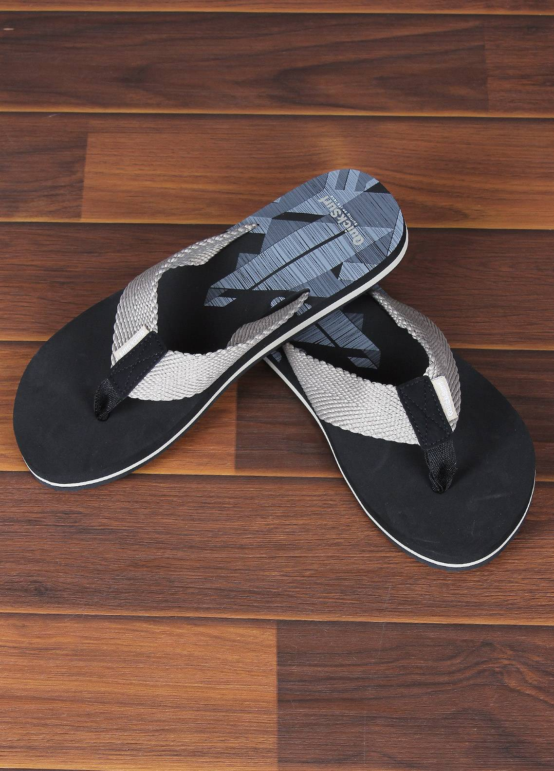Sanaulla Exclusive Range  Rubber Flip Flops For Men 2389 Fawn