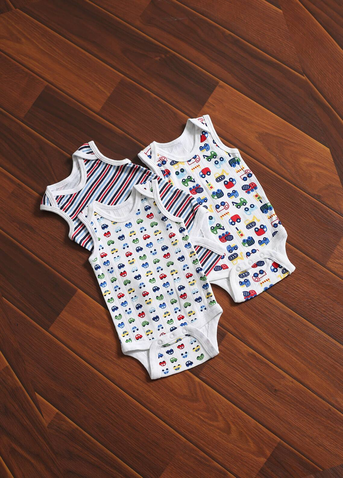 Mother Touch Half Sleeves  Stitched Body Suit 172-1