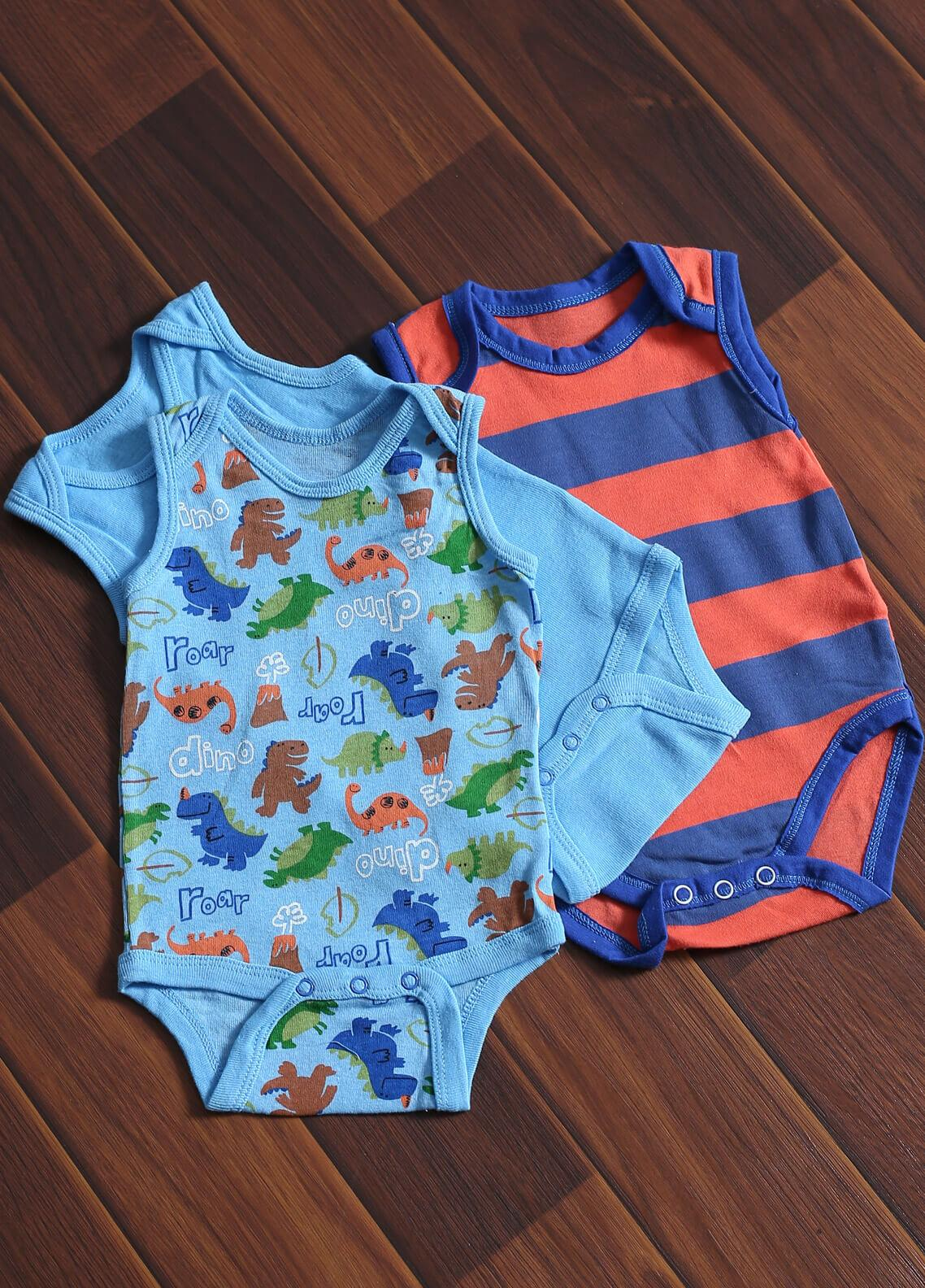 Mother Touch Half Sleeves  Stitched Body Suit 172-2