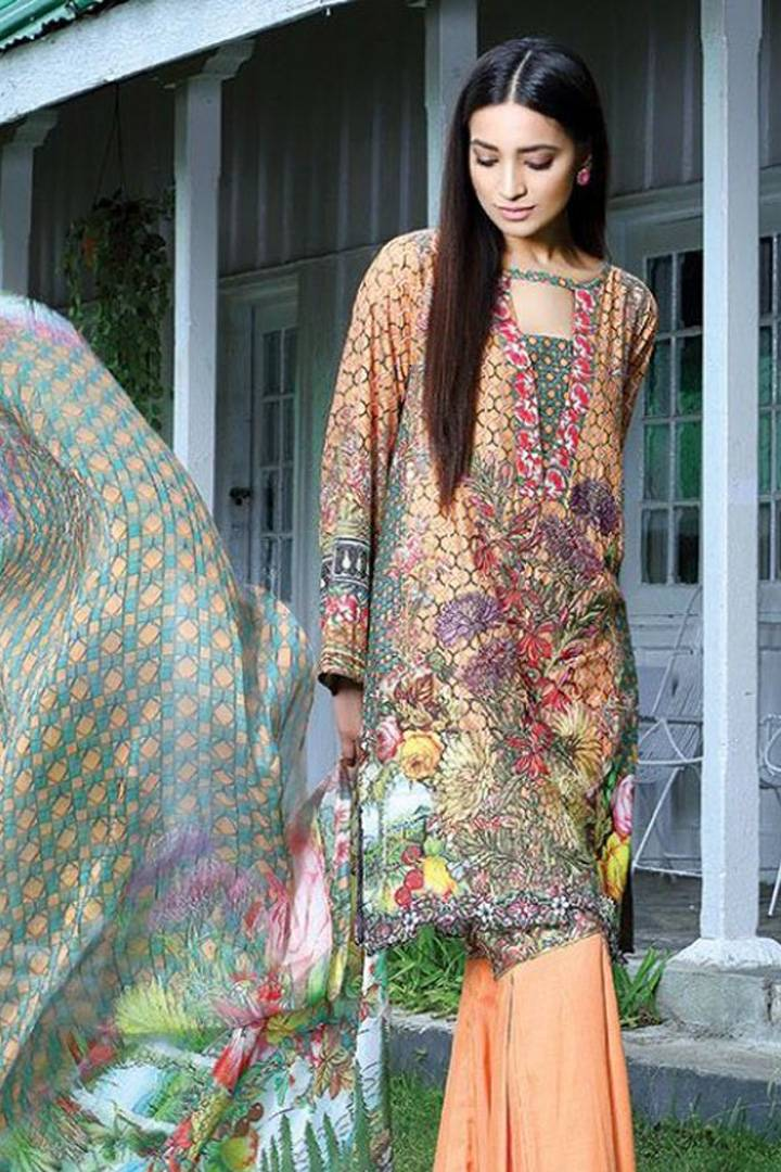 Motifz Embroidered Karandi Unstitched 3 Piece Suit MT16W 1528A