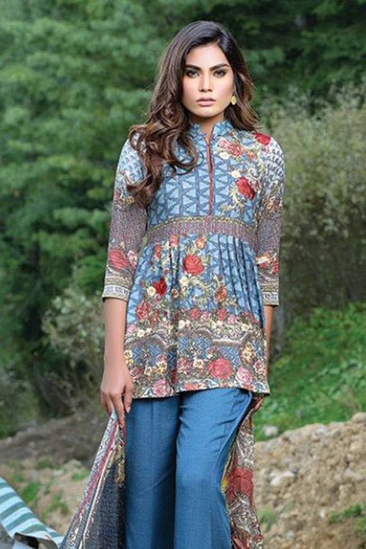 Motifz Embroidered Karandi Unstitched 3 Piece Suit MT16W 1529A