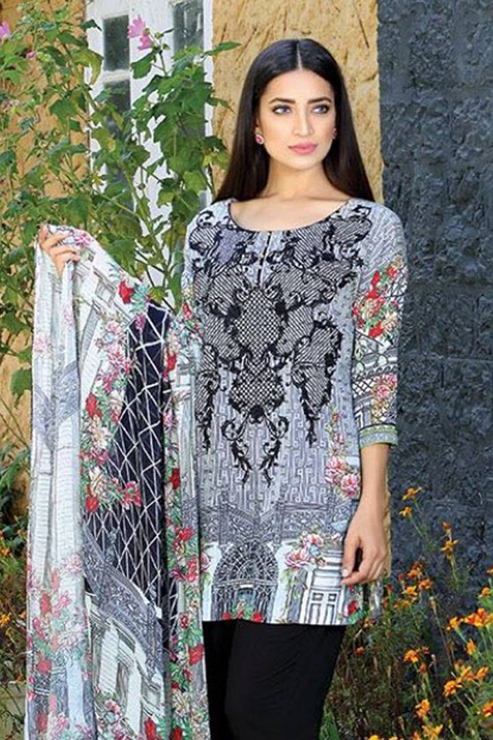 Motifz Embroidered Karandi Unstitched 3 Piece Suit MT16W 1531A