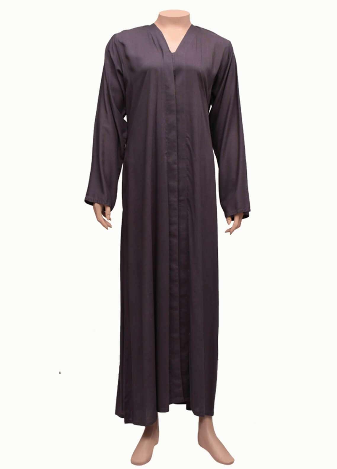 Hijab ul Hareem  Abayas New Stylish Designered Lawn Abaya 0116-P-1