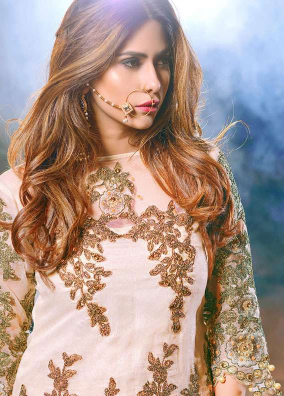 Noorma Kamal Embroidered Chiffon Unstitched 3 Piece Suit NK18C 08 - Formal Collection