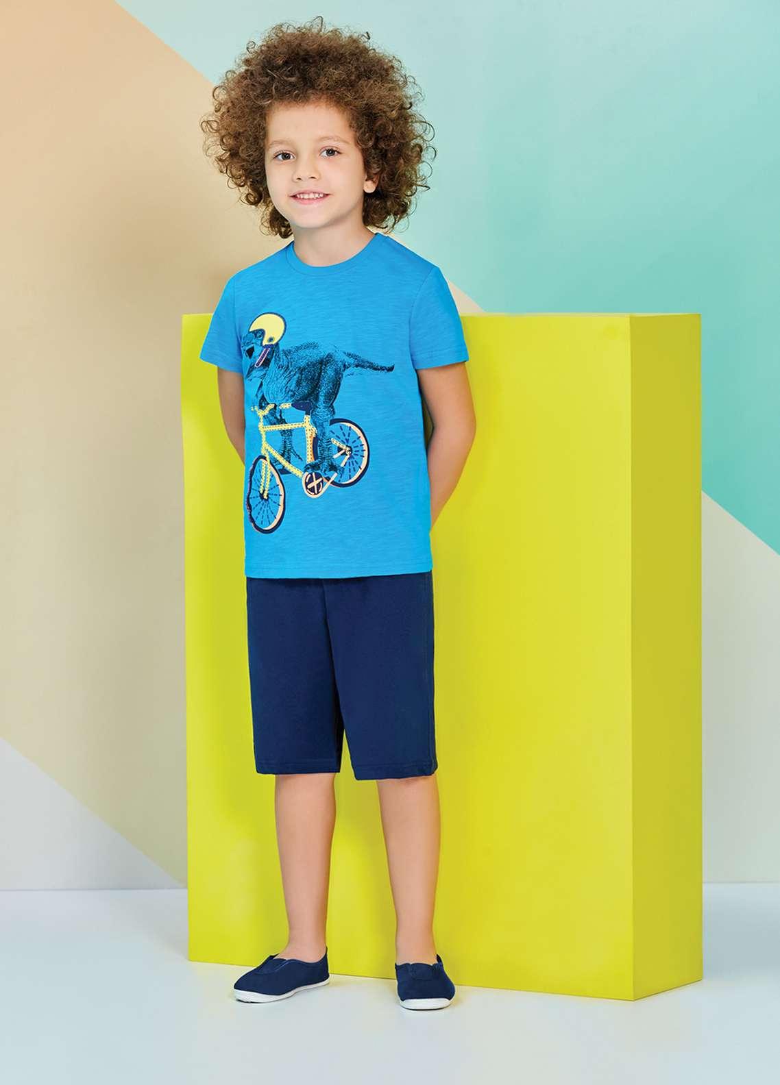 Cotton Net Kids Nightwear 2 Piece NS18K 1215 FEROZI