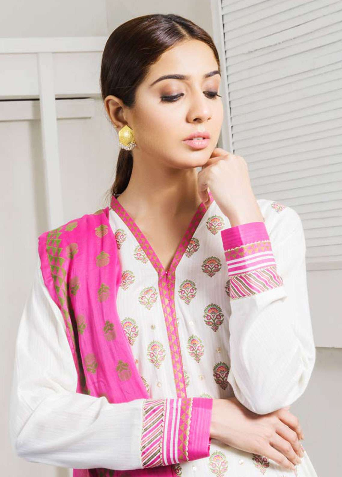Orient Textile Embroidered Lawn Unstitched 3 Piece Suit OT19-L2 127 A - Spring / Summer Collection