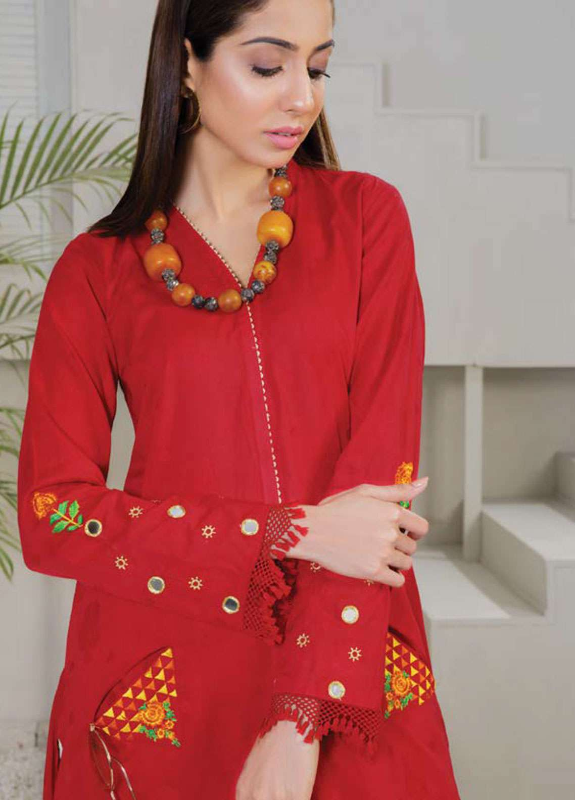 Orient Textile Embroidered Jacquard Unstitched Kurties OT19-L2 141 A - Spring / Summer Collection
