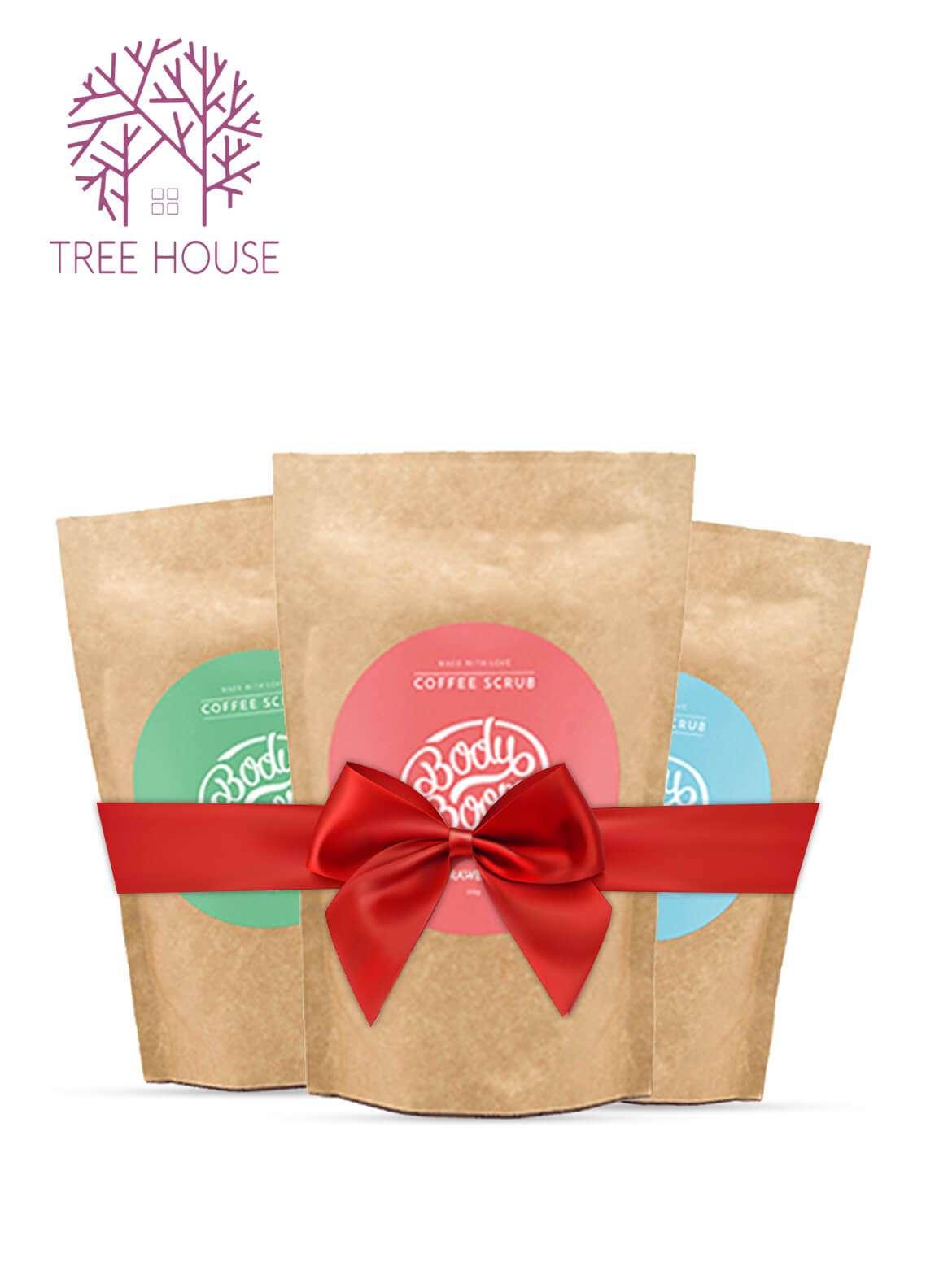 Body Boom Coffee Scrub (Promo pack of 3)