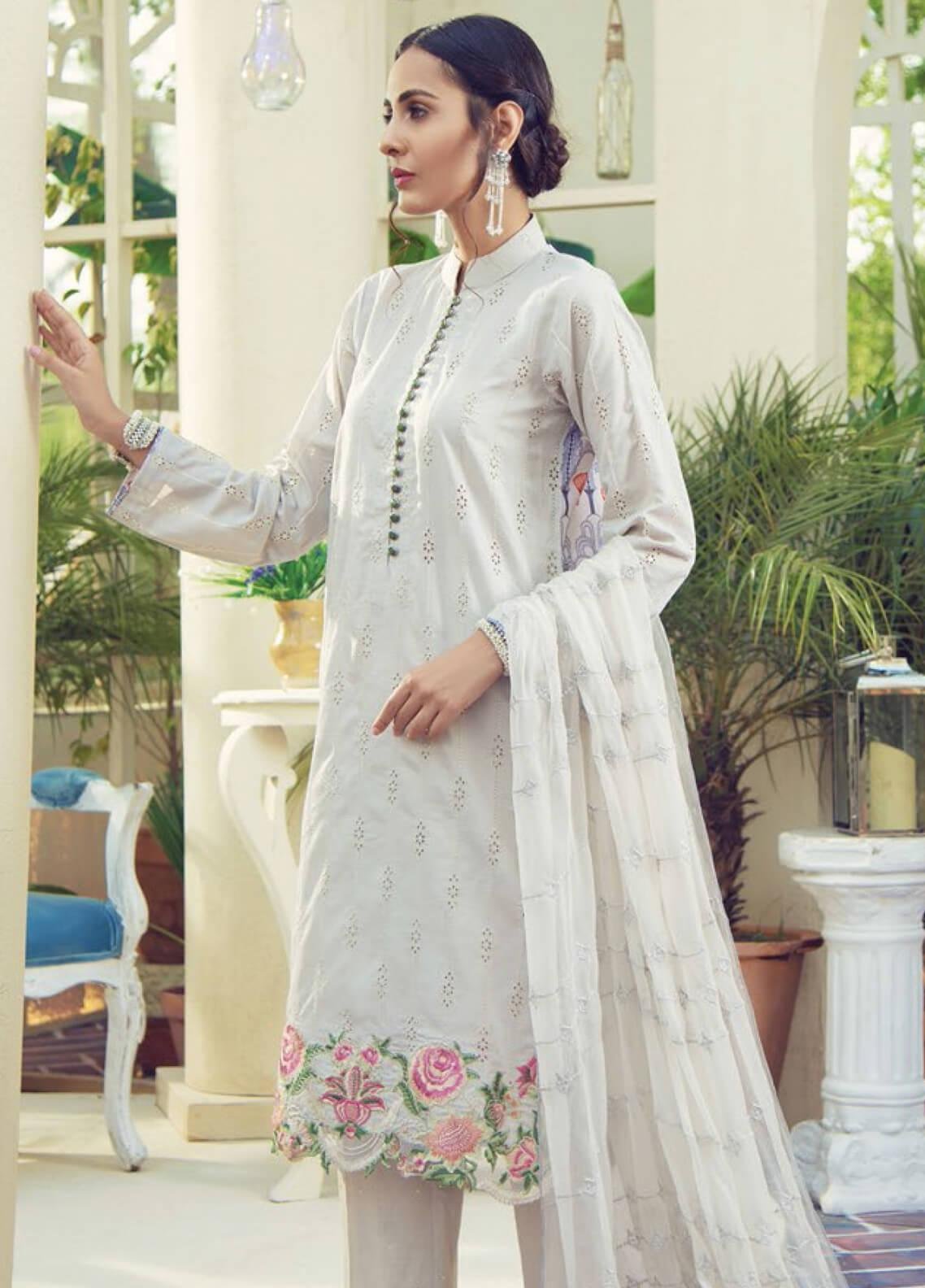 RajBari Embroidered Jacquard Unstitched 3 Piece Suit RB19F 5B - Festive Collection