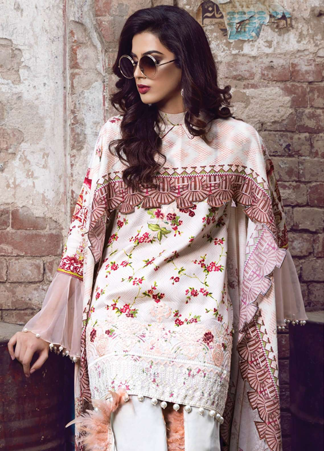Rang Rasiya Embroidered Viscose Unstitched 3 Piece Suit RR18W 3006A - Winter Collection