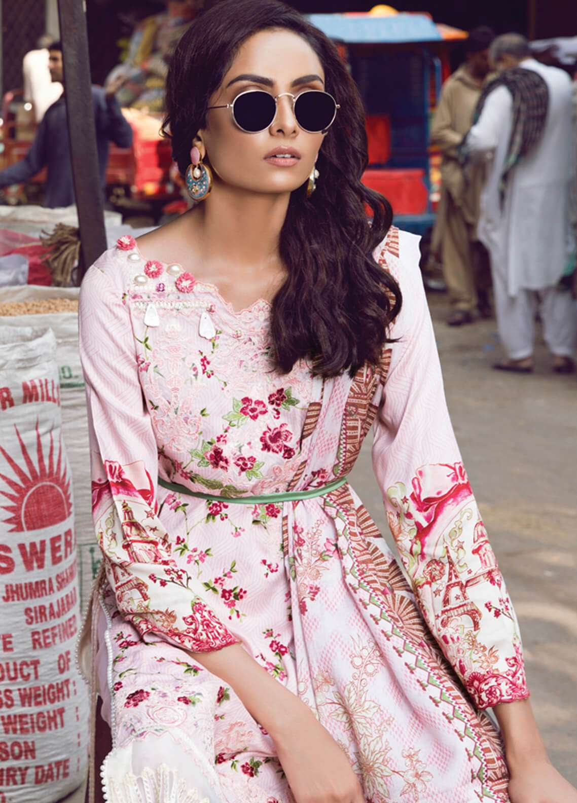 Rang Rasiya Embroidered Viscose Unstitched 3 Piece Suit RR18W 3006B - Winter Collection