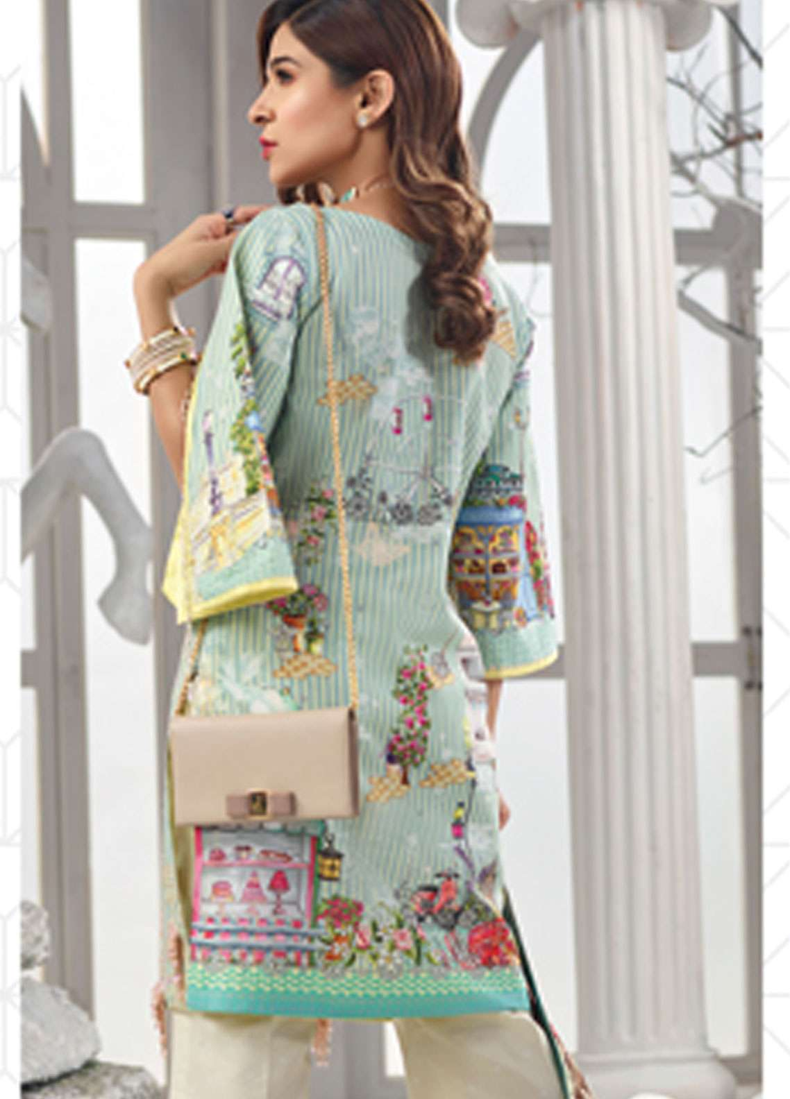 372b211601 Rang Rasiya Embroidered Lawn Unstitched 3 Piece Suit RR19L 5009B - Spring / Summer  Collection