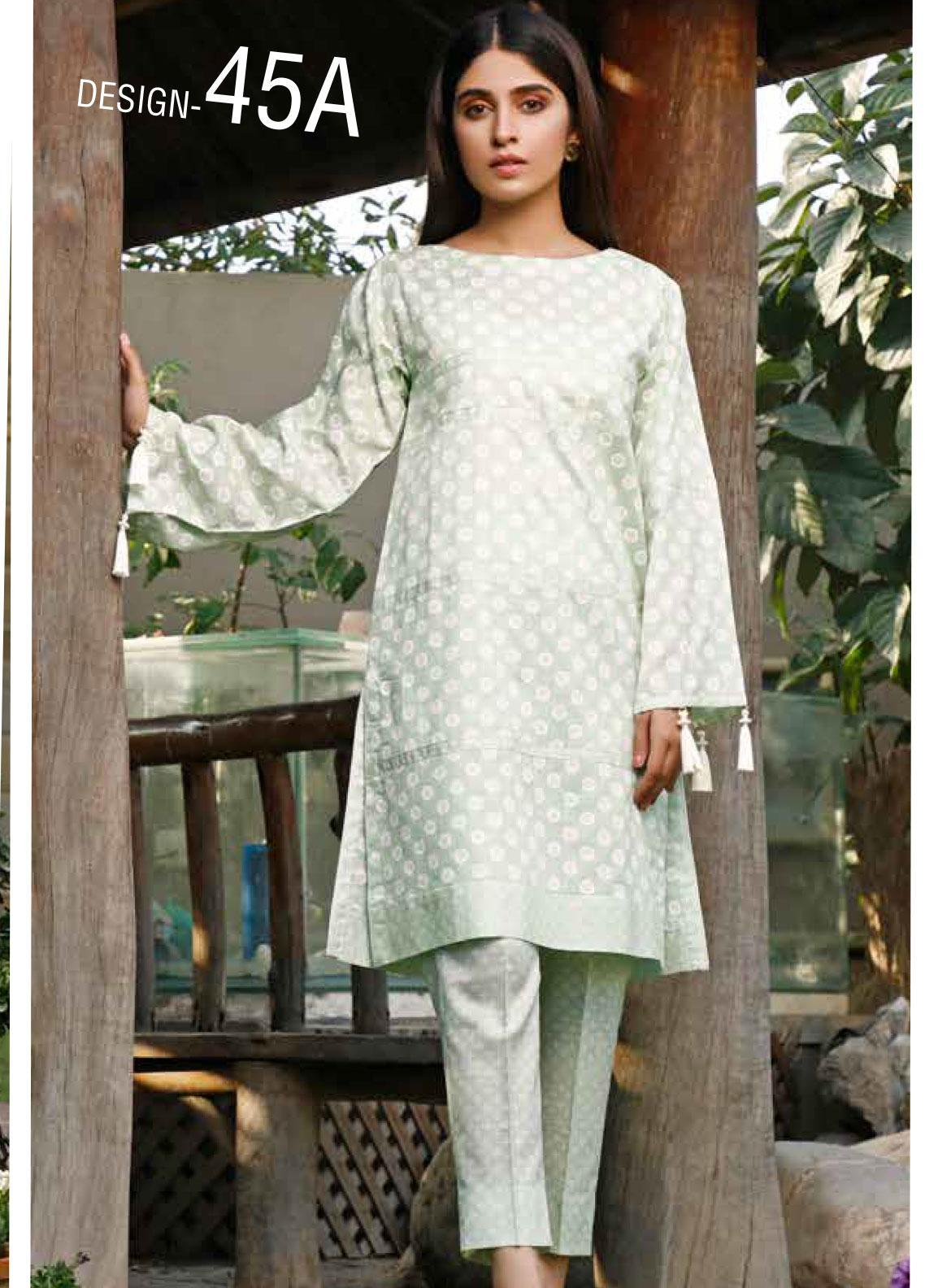 Rangoli by Ittehad Textiles Printed Lawn Unstitched 2 Piece Suit IT20R 45 A - Spring / Summer Collection
