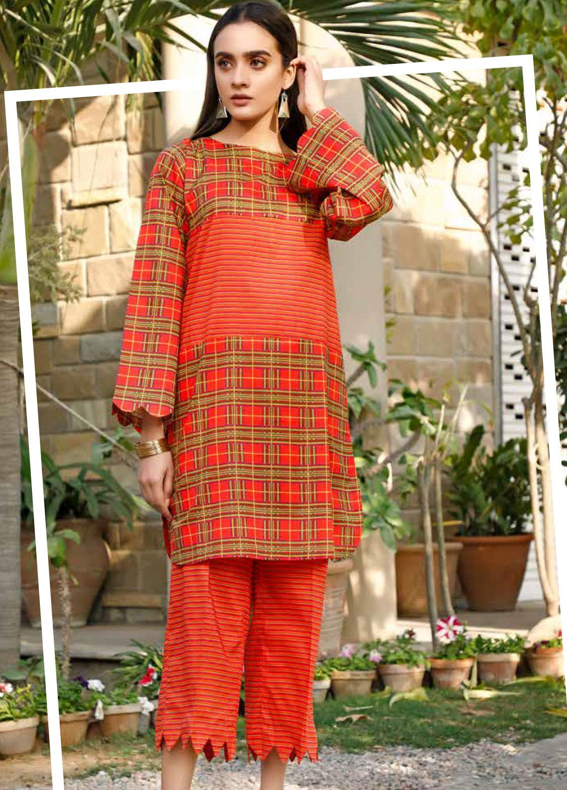 Rangoli by Ittehad Textiles Printed Lawn Unstitched 2 Piece Suit IT20R 47 A - Spring / Summer Collection