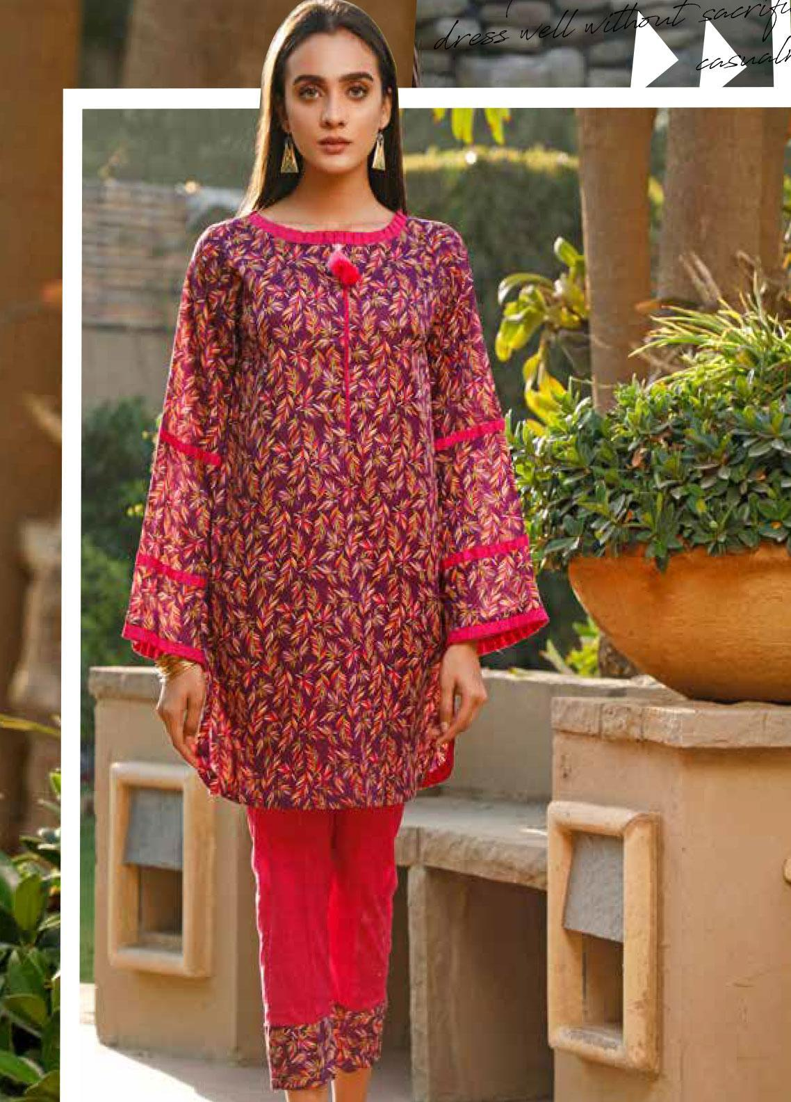 Rangoli by Ittehad Textiles Printed Lawn Unstitched 2 Piece Suit IT20R 49 A - Spring / Summer Collection