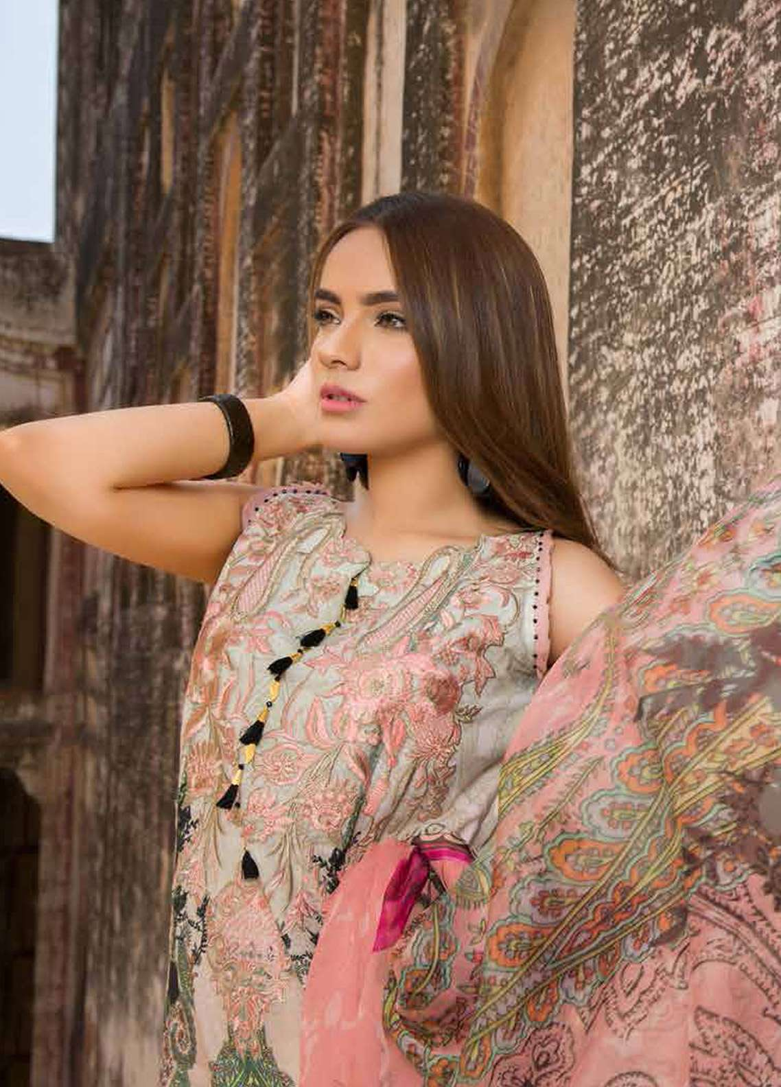 Rani Emaan Embroidered Lawn Unstitched 3 Piece Suit RE18L 01 - Festive Collection