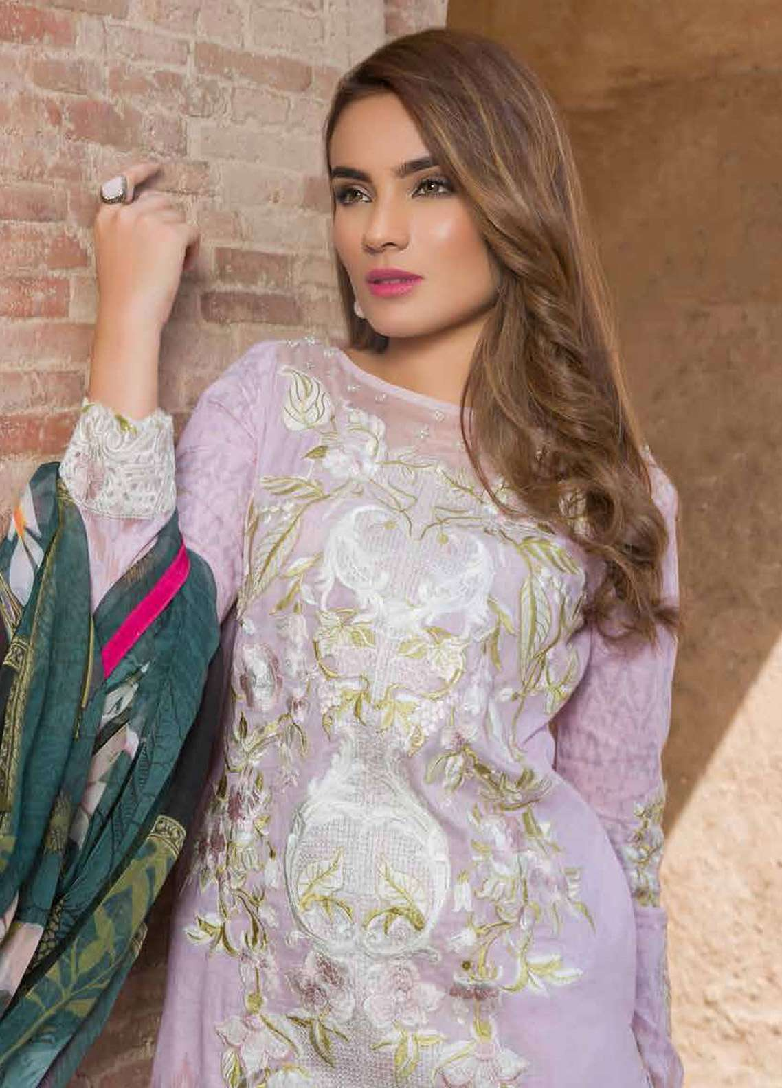 Rani Emaan Embroidered Lawn Unstitched 3 Piece Suit RE18L 08 - Festive Collection