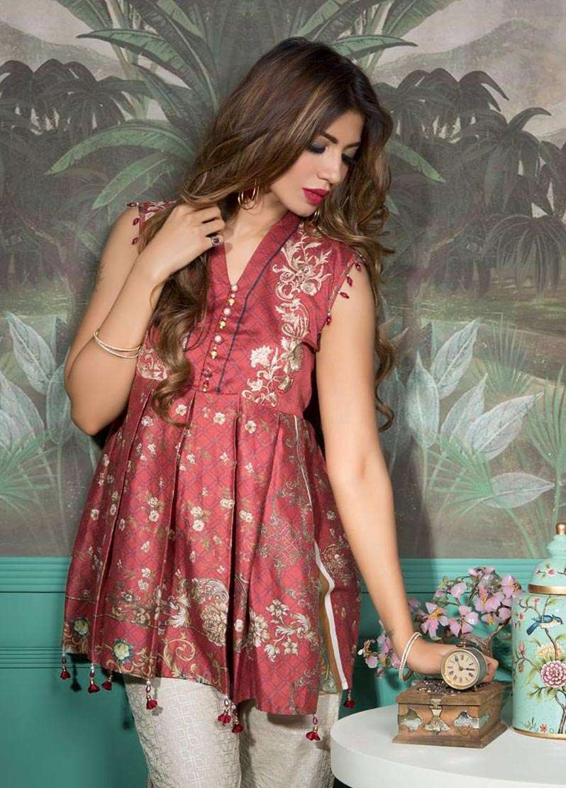 Rang Rasiya Embroidered Lawn Unstitched 3 Piece Suit RGR17E3 Rogogo Luxe B