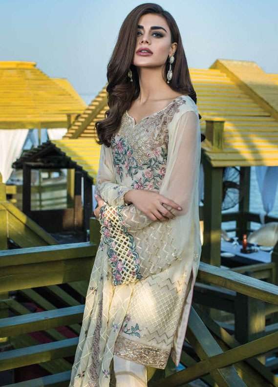 f5bbedbe66 Reemal Khan Embroidered Chiffon Unstitched 3 Piece Suit RK18C 02. PKR  7,605.00. SOLD OUT. Reemal ...