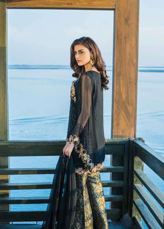 aa9e78981b Reemal Khan Embroidered Chiffon Unstitched 3 Piece Suit RK18C 06