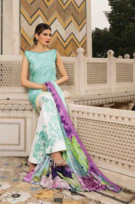 Rungrez Embroidered Silk Unstitched 3 Piece Suit RNG17E2 11