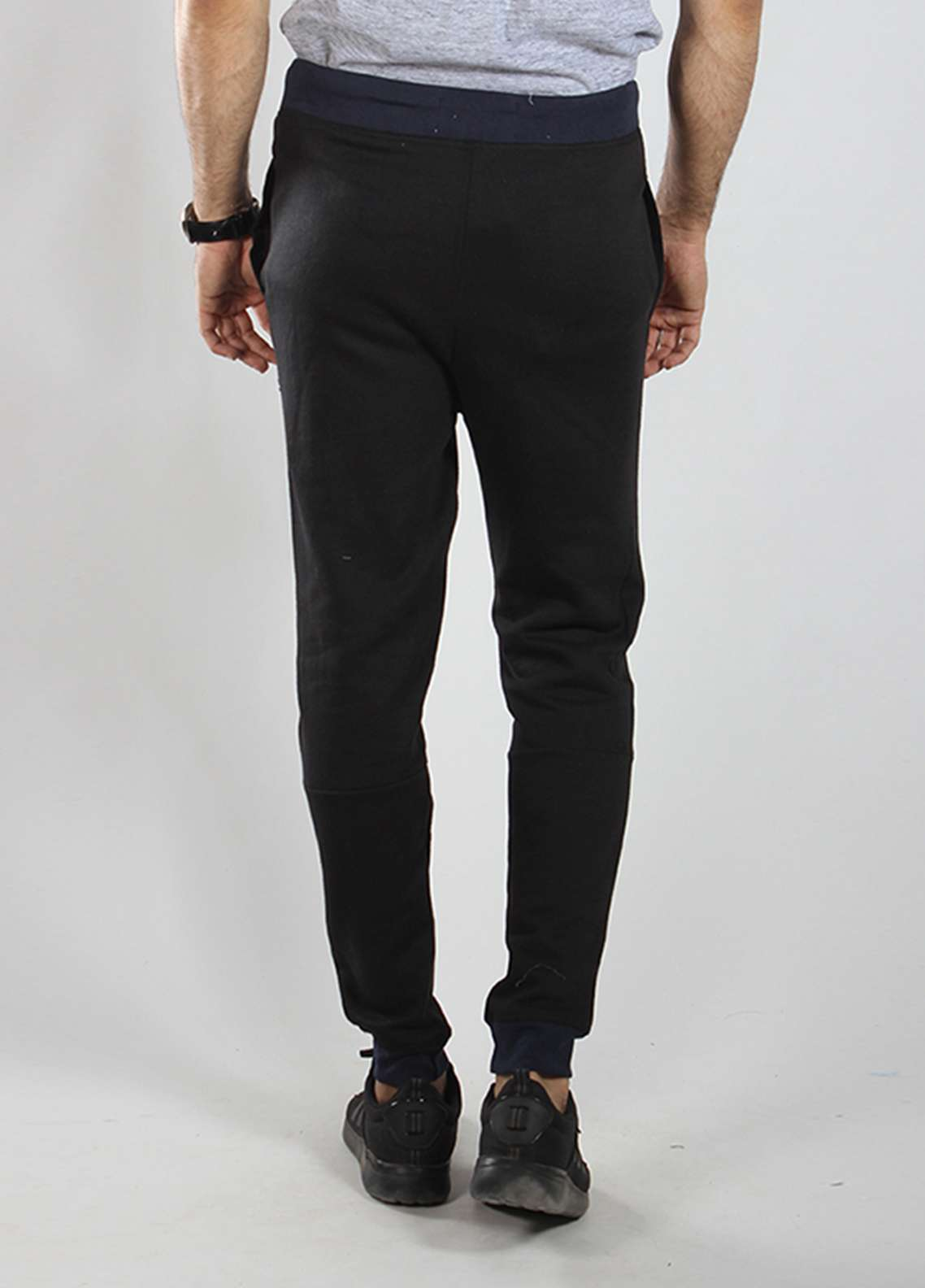 Red Tree Knitted Casual Trousers for Men - Black RTM18TR 6022