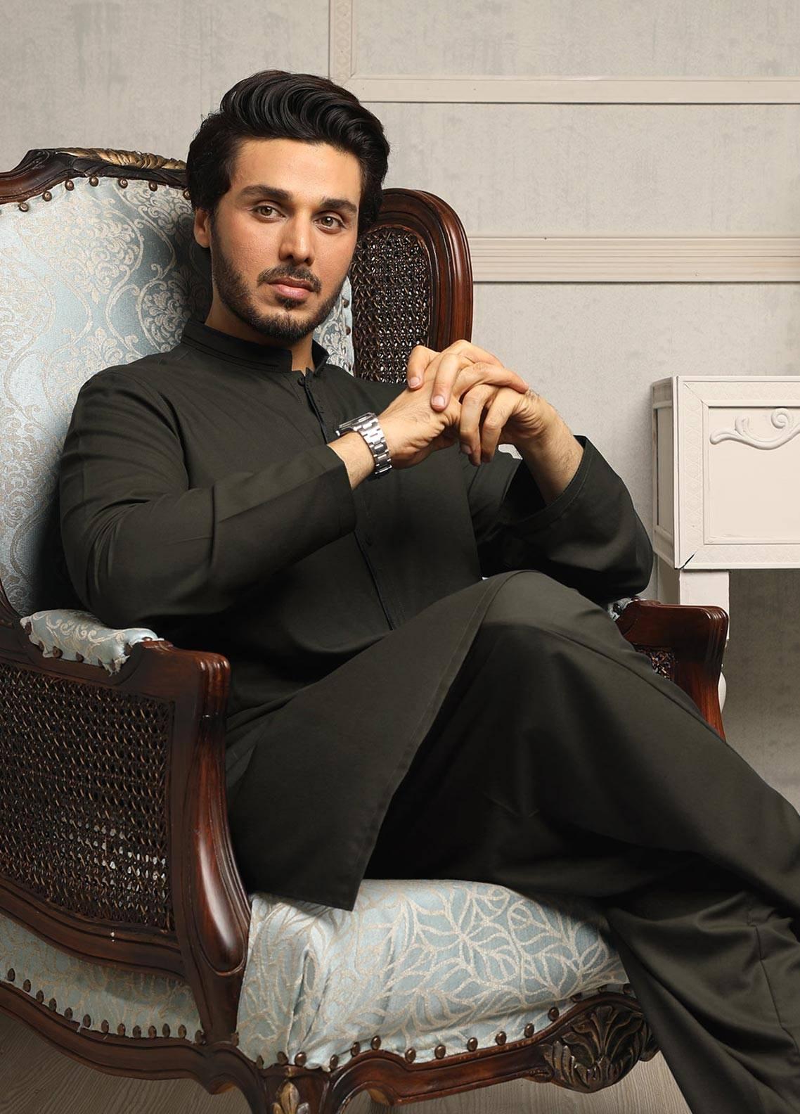 Safeer by Edenrobe EMUB18-SUPREME Blended Unstitched Men's Kameez Shalwar Fabric
