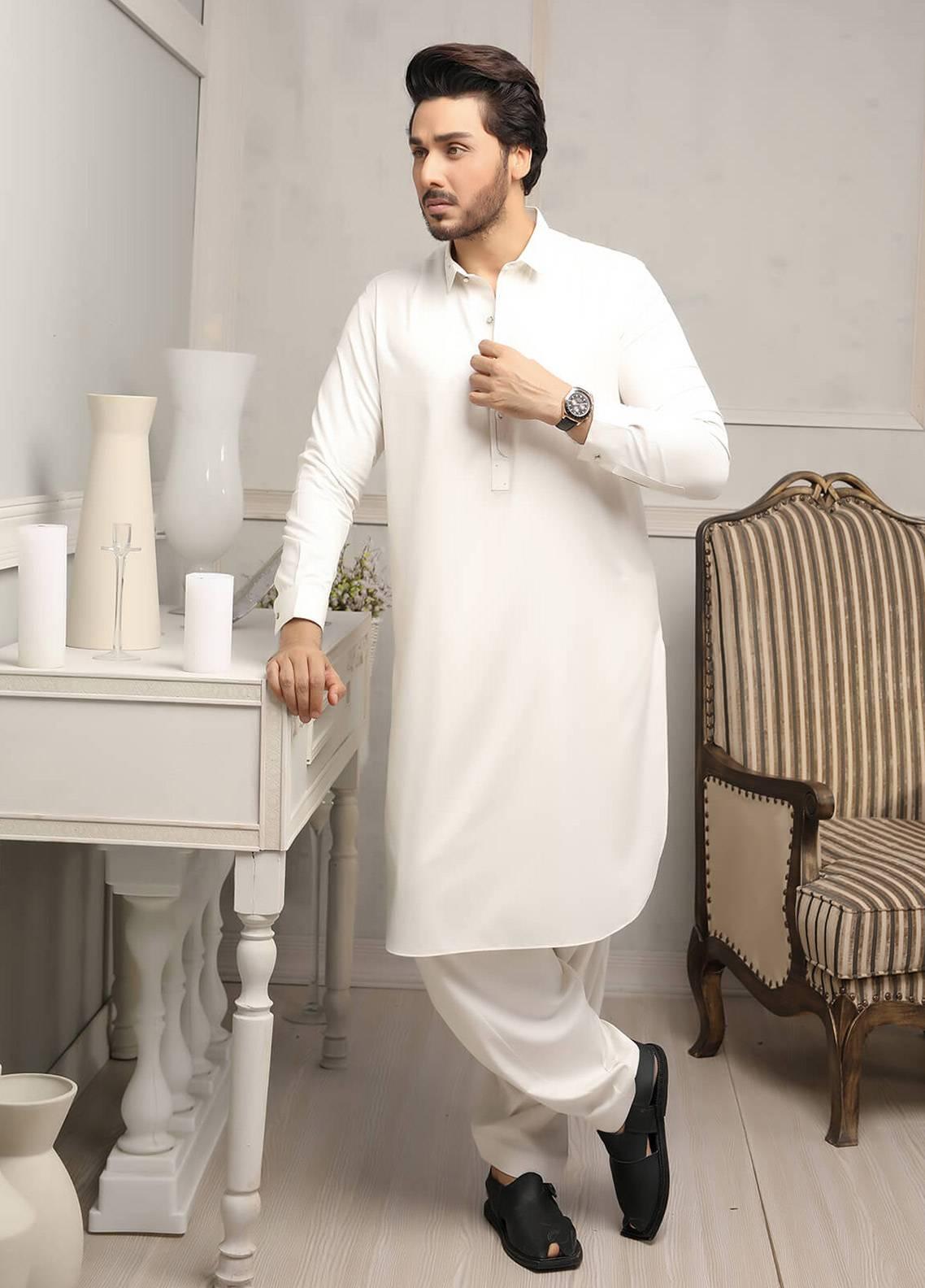 f0fff202ee Safeer by Edenrobe EMUC18-IMPERIAL Cotton Unstitched Men's Kameez Shalwar  Fabric. Online only