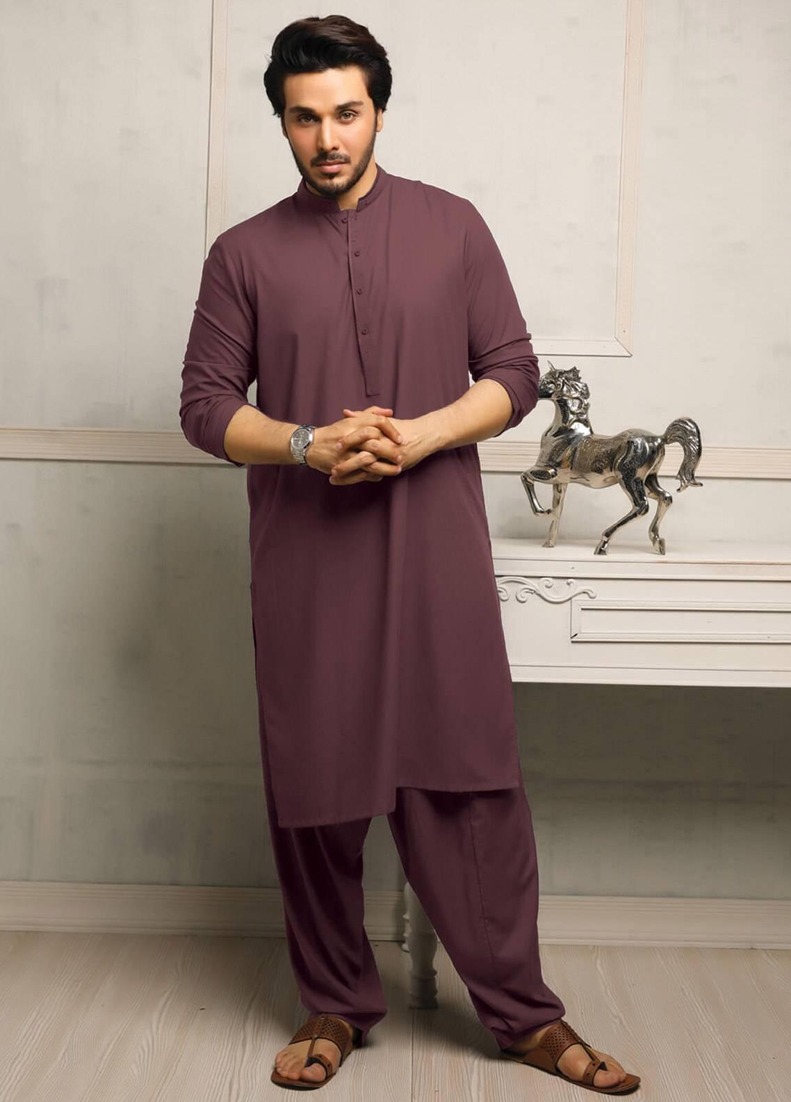 Safeer by Edenrobe EMUC18-INDULGE Cotton Unstitched Men's Kameez Shalwar Fabric