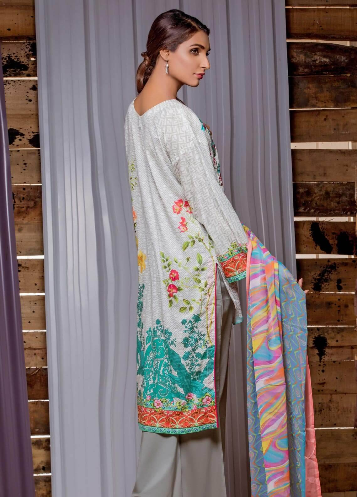 4957771427 Sahil By ZS Textiles Embroidered Lawn Unstitched 3 Piece Suit SE18MS 14 - Mid  Summer Collection