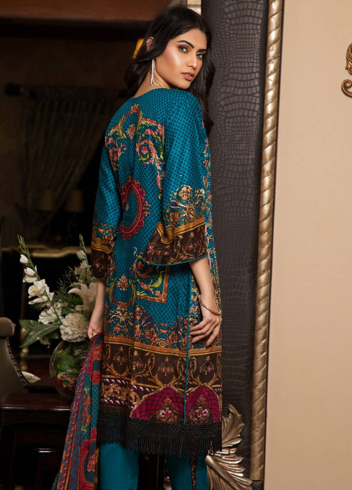 cf605bf734 Sahil by ZS Textiles: Sahil Lawn 2019 Unstitched Embroidered and ...