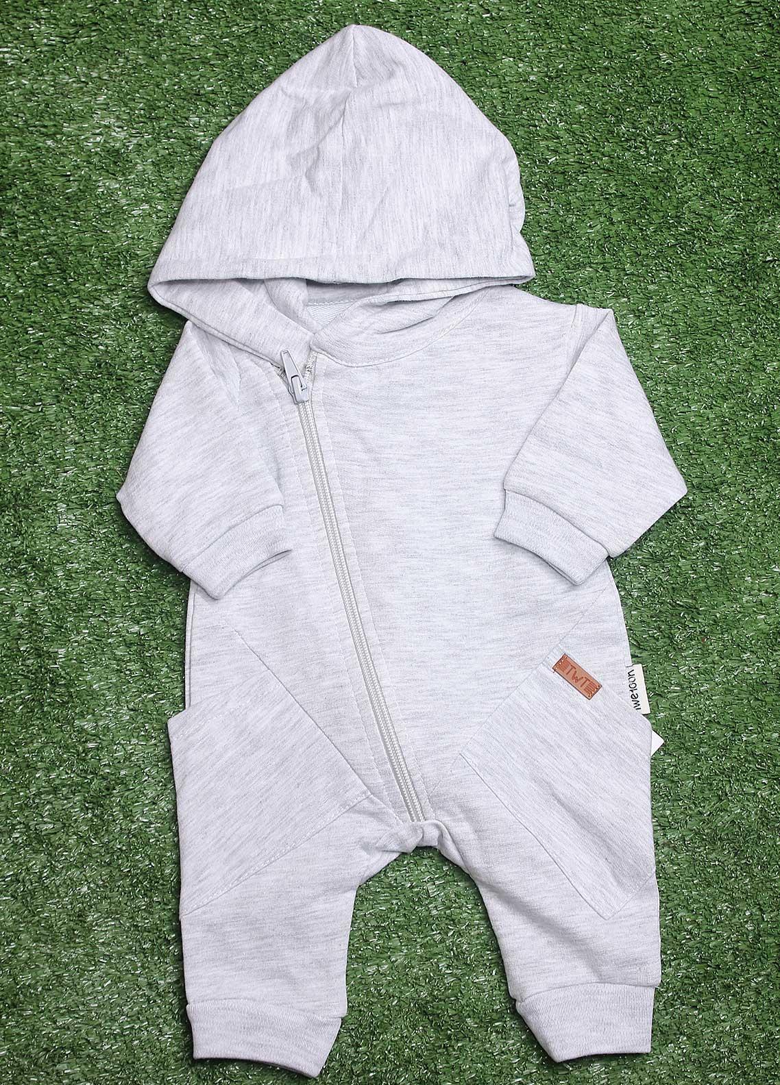 Sanaulla Exclusive Range  Fancy Romper for Boys -  113589 Grey