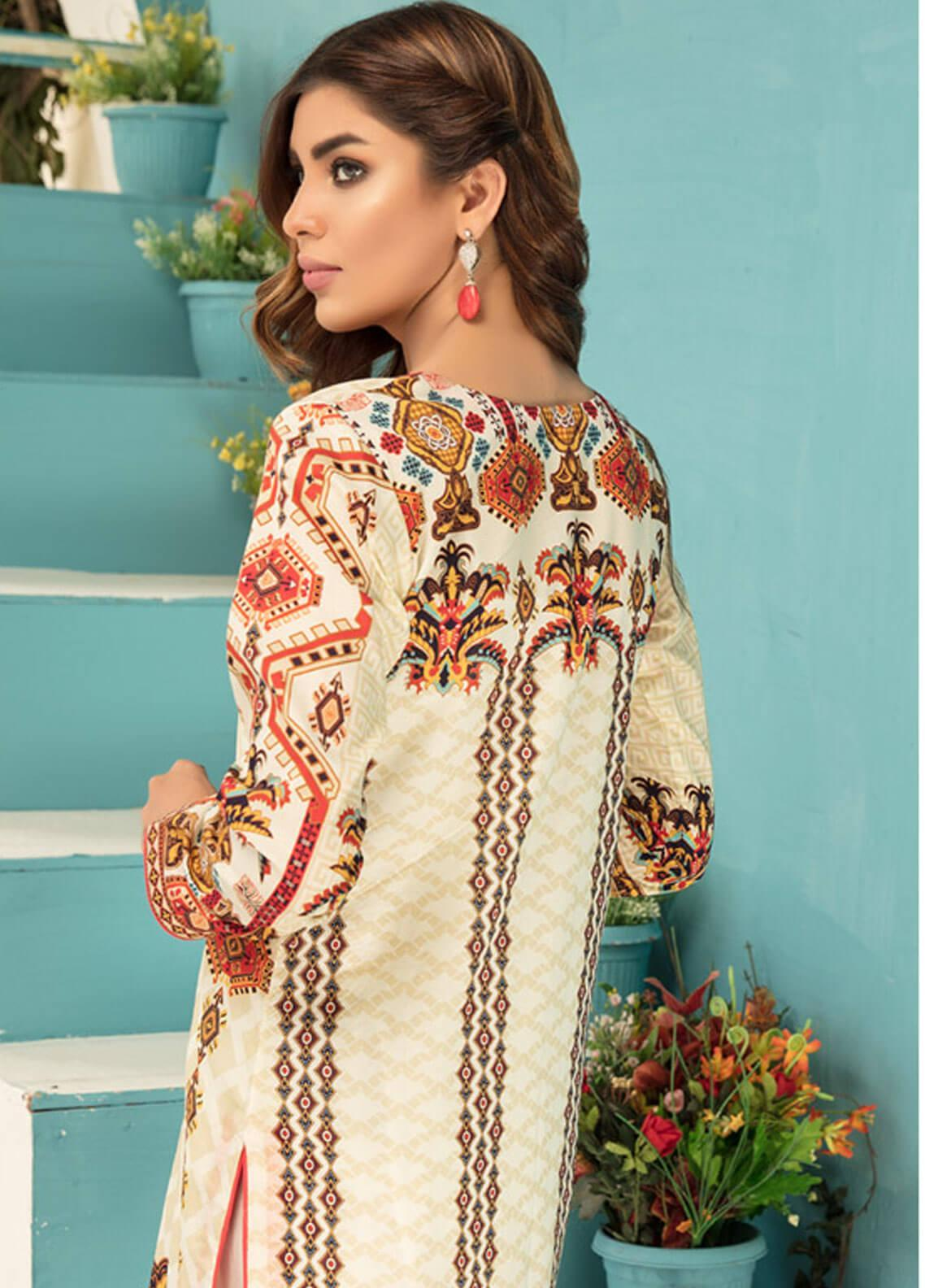 b08d820c2e Sanoor by Noor Fatima Printed Lawn Unstitched Kurties SNO19F 870 - Festive  Collection. Online only