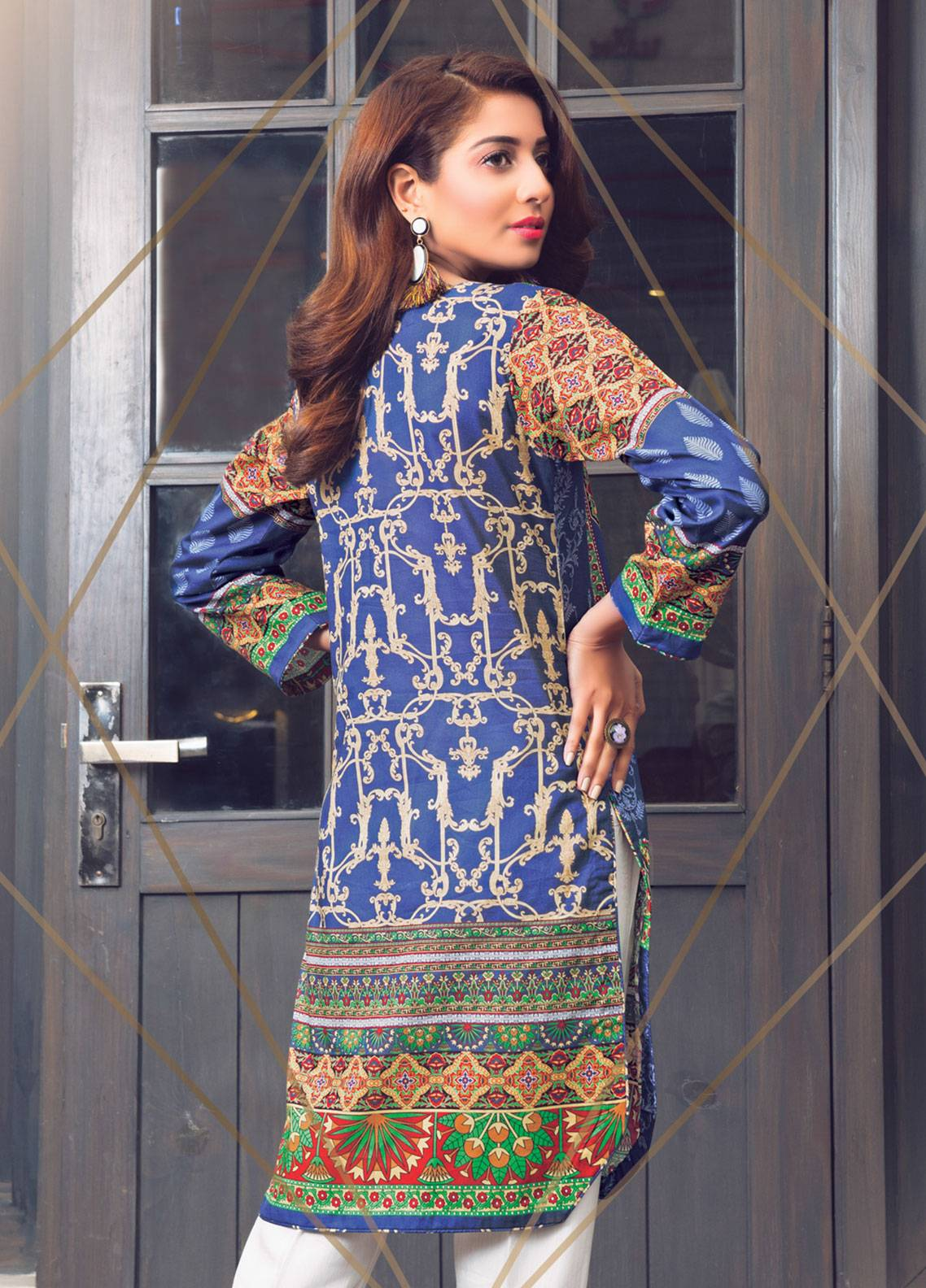 833dffa295 Sanoor by Noor Fatima Printed Lawn Unstitched Kurties SNO19K 857 - Spring /  Summer Collection. Online only