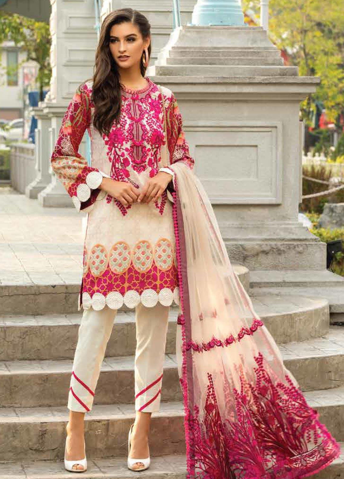 Sarang Embroidered Lawn Unstitched 3 Piece Suit S20LS 05 - Spring / Summer Collection