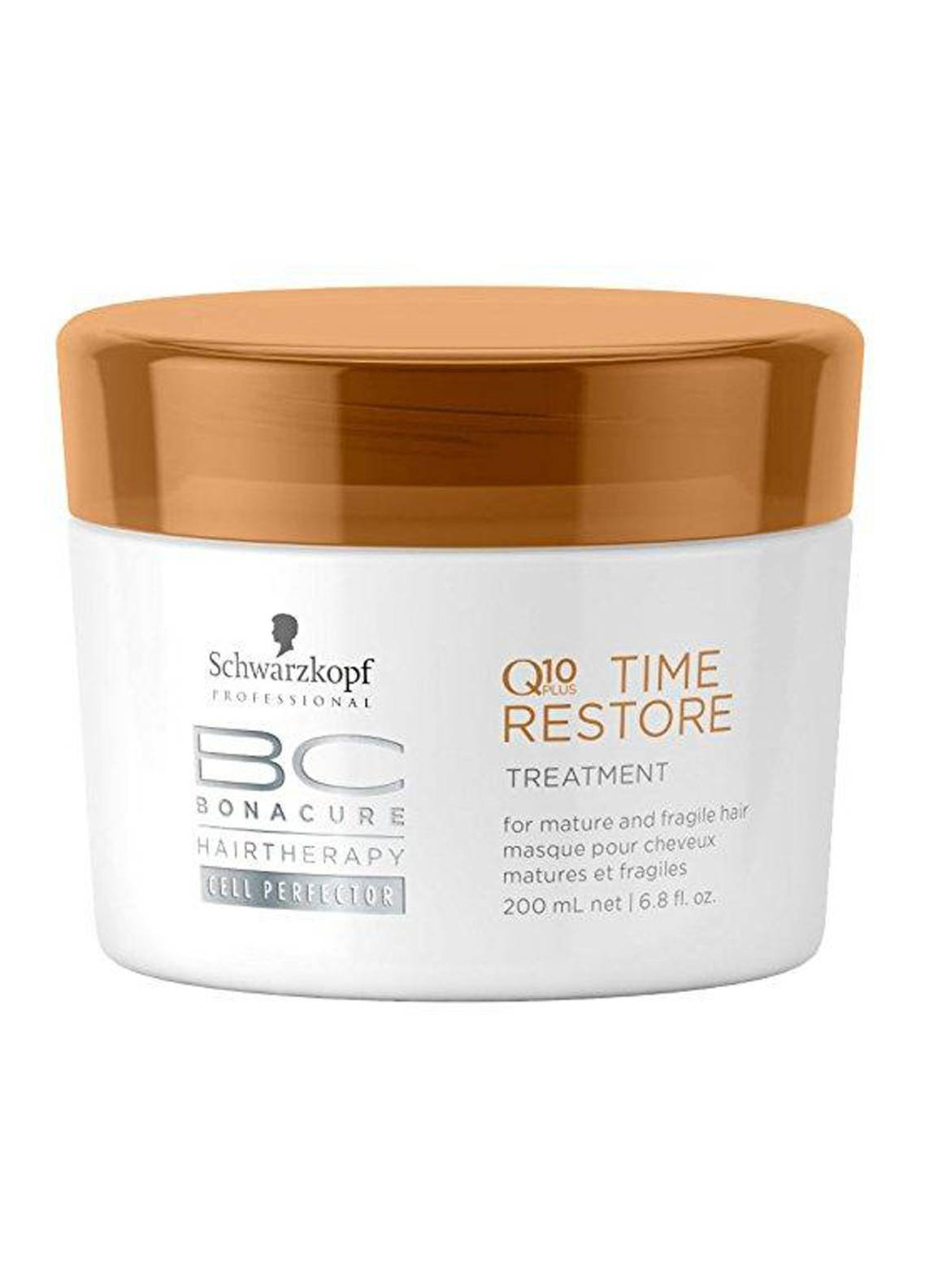 Schwarzkopf Bonacure Q10 Time Restore Treatment - 200 ml